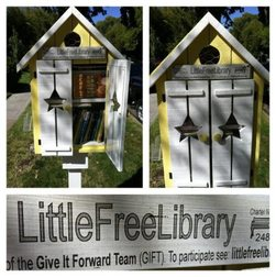 Picture of Little Free Library from Little Free Library website