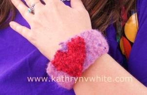 Heart Wristlet by Kathryn V. White