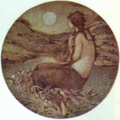 The Mirror of Venus from wikipaintings.org
