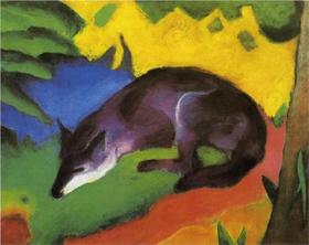 Franz Marc Painting from wikipaintings.org